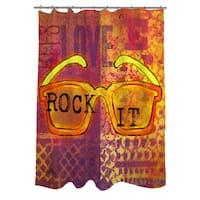 Sunglasses Rock It Shower Curtain