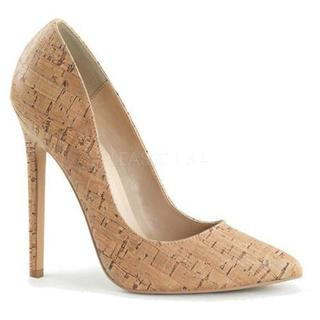 Women's Pleaser Sexy 20 Pump Cork PU