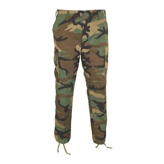 Genuine Gear BDU Trouser 60C/40P Long Woodland Camo (4 options available)