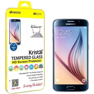 Amzer Kristal Tempered Glass HD Screen Protector for Samsung Galaxy S