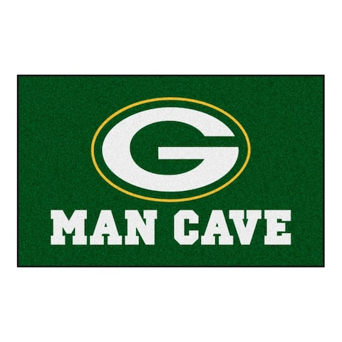 """FANMATS NFL - Green Bay Packers Man Cave UltiMat 59.5""""x94.5"""""""