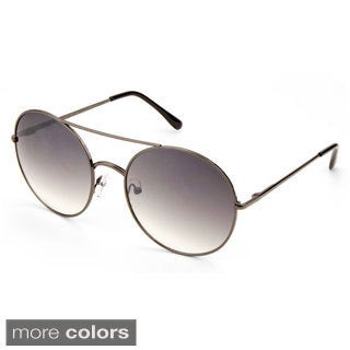 EPIC Eyewear 'Aria' Double Bridge Round Fashion Sunglasses