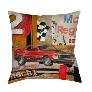 Thumbprintz Muscle Cars I Decorative Pillow