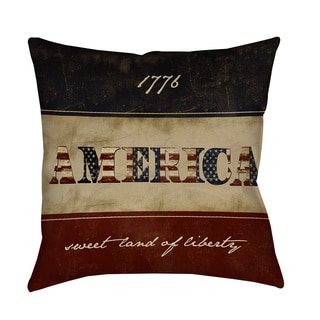 Thumbprintz America Decorative Pillow