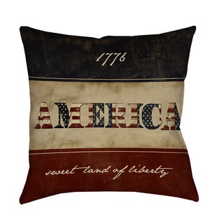 America Decorative Pillow