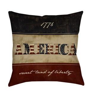 America Decorative Pillow