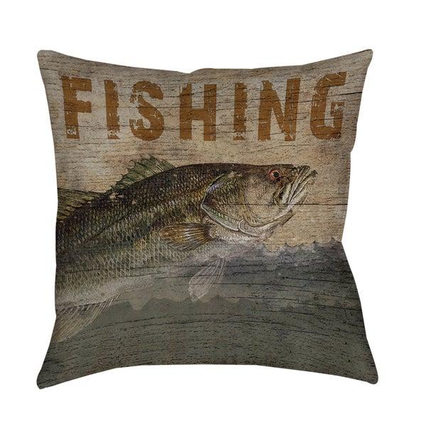 Fishing Indoor/ Outdoor Pillow