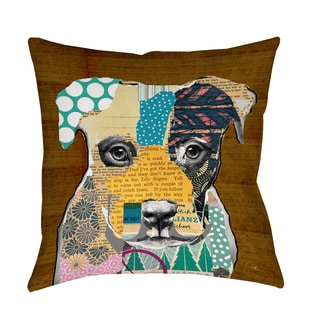Thumbprintz Pattern Collage Pit Decorative Pillow