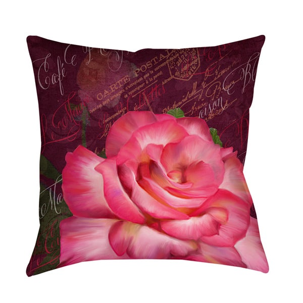 Paris Bistro Decorative Throw Pillow