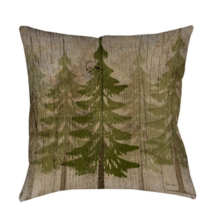 Thumbprintz Pines Decorative Throw Pillow