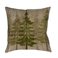 Pines Decorative Throw Pillow