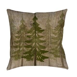 Pines Decorative Throw Pillow