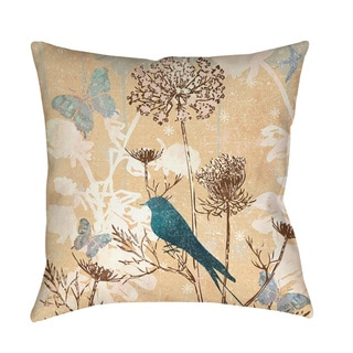 The Gray Barn Ivy Hollow Knife Edge Square Decorative Pillow