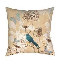 Laurel Creek Kiowa Bird Indoor/Outdoor Pillow
