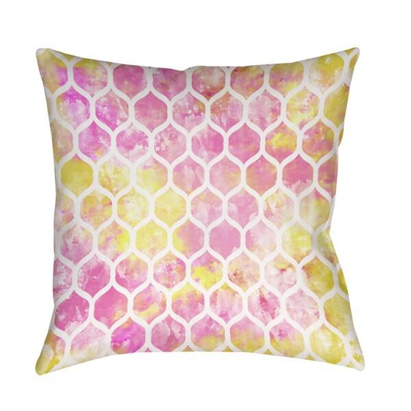 Summer Florals Pattern I Decorative Throw Pillow