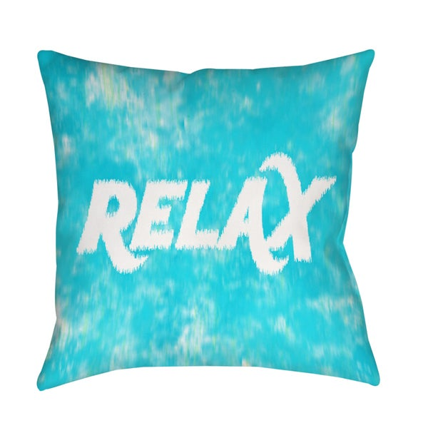 Shop Sponge Paint Relax Decorative Throw Pillow On Sale Free Gorgeous Relax Decorative Pillow