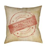 Stamp Original Indoor/ Outdoor Pillow