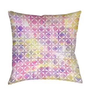 Summer Florals Pattern III Decorative Throw Pillow