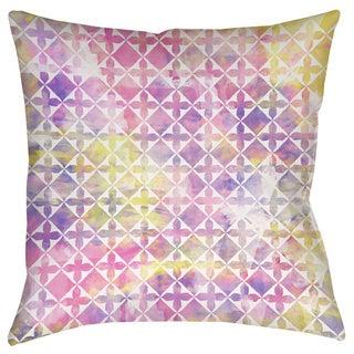 Summer Florals Pattern III Indoor/ Outdoor Pillow
