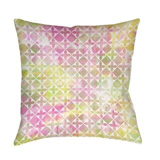 Summer Florals Pattern II Indoor/ Outdoor Pillow