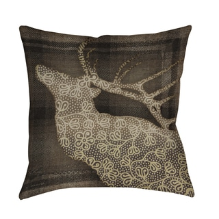 Thumbprintz Deer Elegance Decorative Pillow