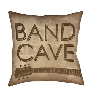 Thumbprintz Band Cave Decorative Pillow