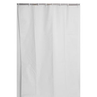 "54"" x 74"" Heavy-Duty Staph, Mold and Odor Resistant Commercial Shower Curtain (Pack of 10)"