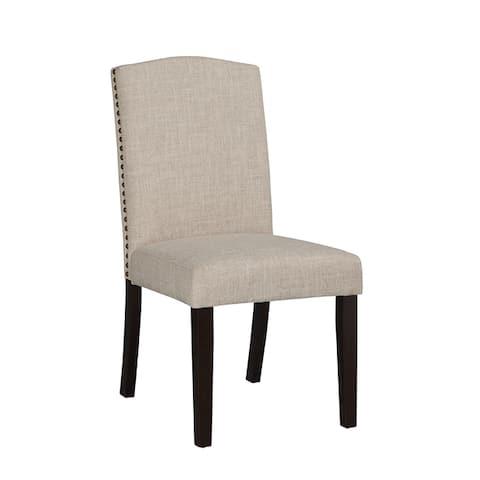 Copper Grove Solana Champagne Parson Dining Chair