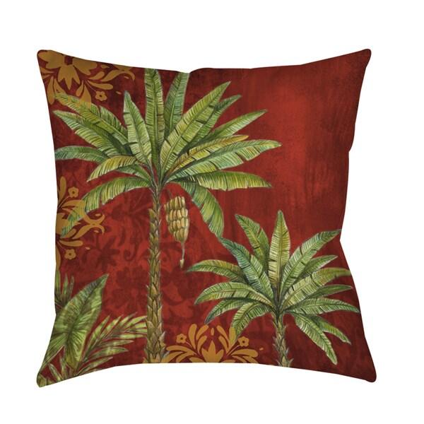 Palms Pattern II Indoor/ Outdoor Pillow