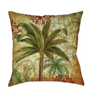 Palms Pattern Decorative Throw Pillow