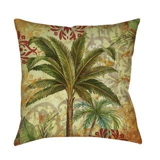 Palms Pattern III Indoor/ Outdoor Pillow