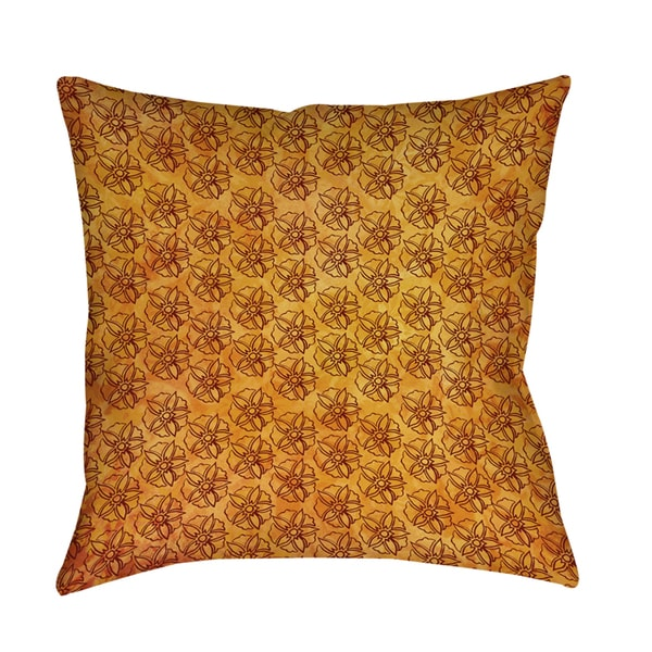 Palm Pattern Decorative Throw Pillow