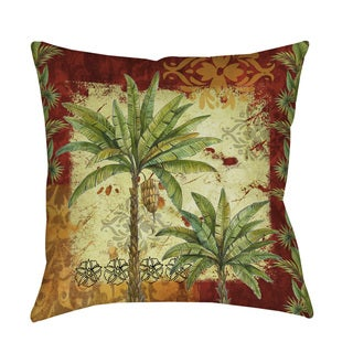 Palms Pattern V Indoor/ Outdoor Pillow