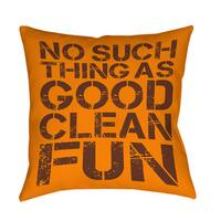 No Such Thing Decorative Pillow