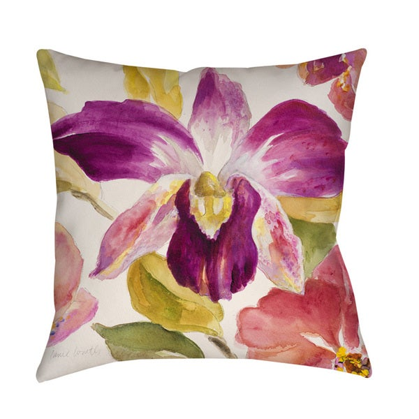 Radiant Orchid Decorative Pillow