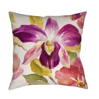 Thumbprintz Radiant Orchid Indoor/ Outdoor Pillow