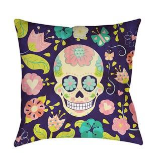 Sugar Skull Indoor/ Outdoor Pillow