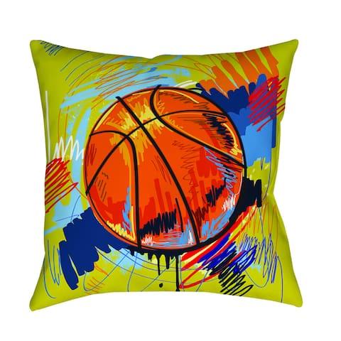 Basketball Slam Dunk Decorative Pillow