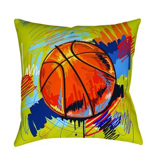 Thumbprintz Basketball Slam Dunk Decorative Pillow