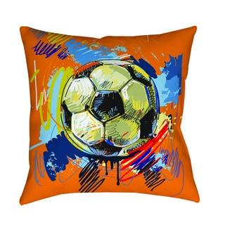 Thumbprintz Soccer Goal Decorative Pillow