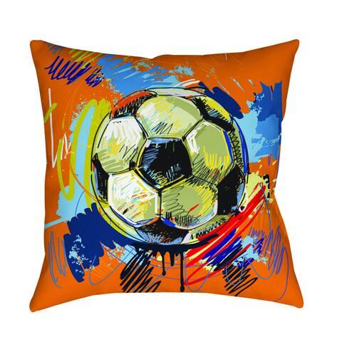 Soccer Goal Indoor/ Outdoor Pillow
