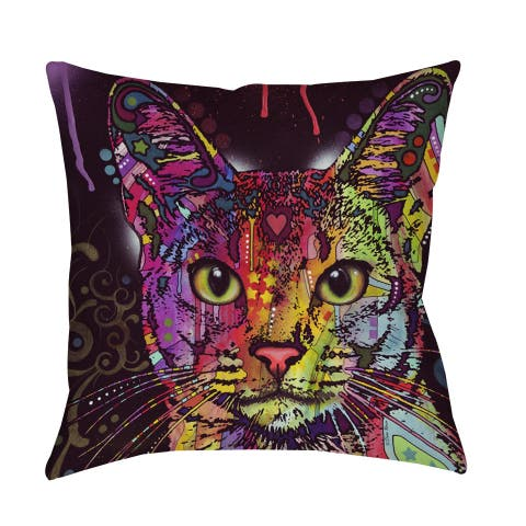 Abyssinian Decorative Pillow