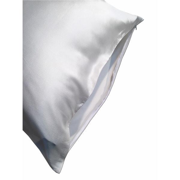 Luckysilk Facial Beauty Pure Silk Pillowcase with Hidden Zipper