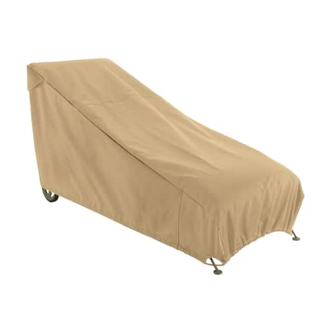 Classic Accessories 58952-EC Terrazzo Patio Chaise Lounge Cover