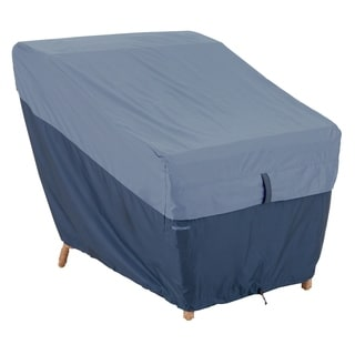 Classic Accessories Belltown Patio Lounge Chair Blue Cover