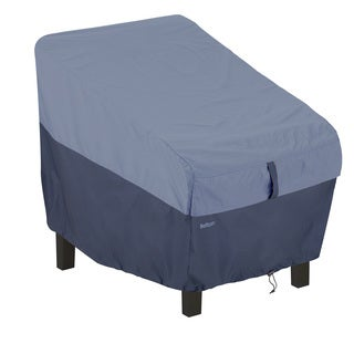 Classic Accessories Belltown Patio Chair Blue Cover