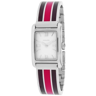 Coach Women's 14501979 Classic Rectangle Three-tone Bracelet Watch