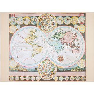 Adam Fredrich Zurnerâs World Map