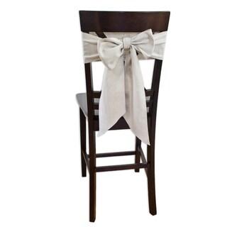 Linen Natural Chair Tie (Set of 2)
