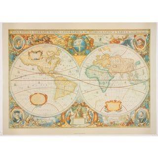 Henry Hondiuâs Map After Mercator